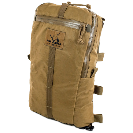 Sherman Pocket Xpac Diagonal Photo of Coyote Brown Color