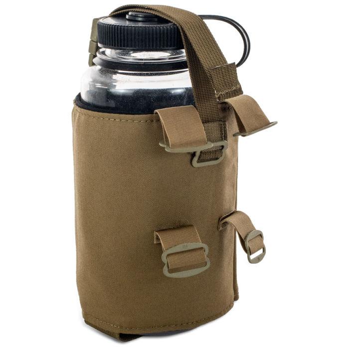Water Bottle Pocket Back Photo of Coyote Brown Color