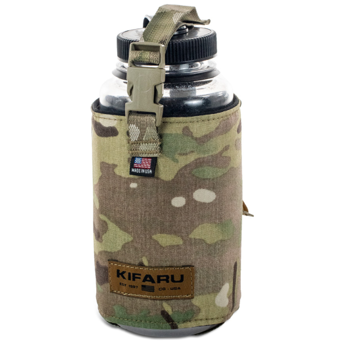 Water Bottle Pocket Diagonal Photo of Multicam Color